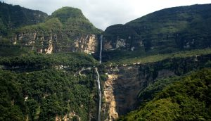 Hike to the Gocta falls in Chachapoyas, Peru