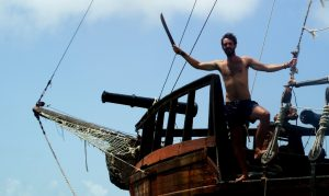That time I lived on an old pirate ship