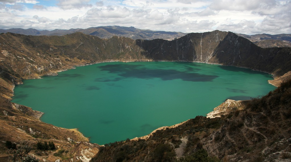 quilotoa loop best hikes in south america
