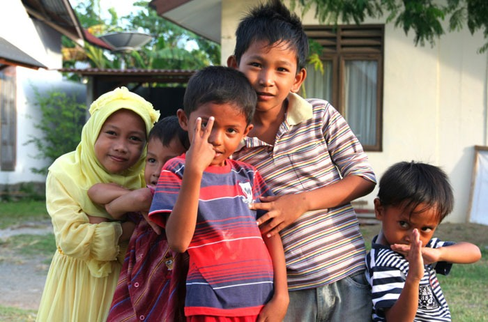 banda aceh kids people why you should visit Sumatra