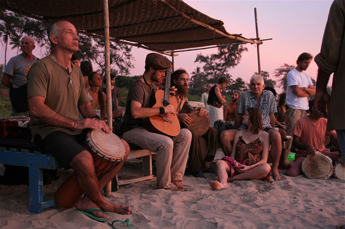 goa-fiesta. mochilero en india