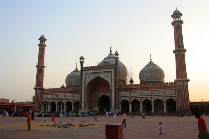 jama-masjid. viaje a la india