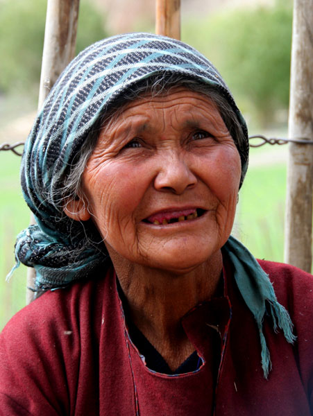 ladakh vieja personas. Trekking al Valle de Markha