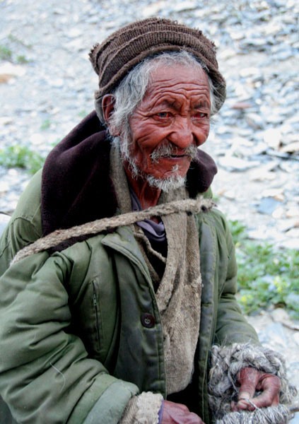 ladakh people markha valley trek on a budget