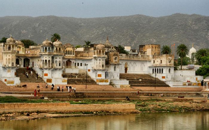 lago-pushkar. mejores sitios que ver en Rajastán