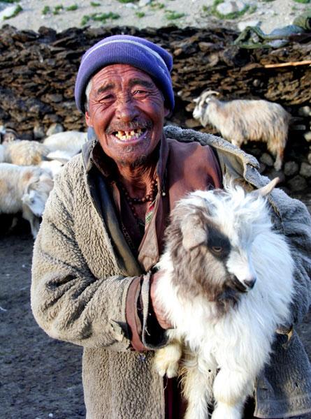 ladakh-people. markha valley