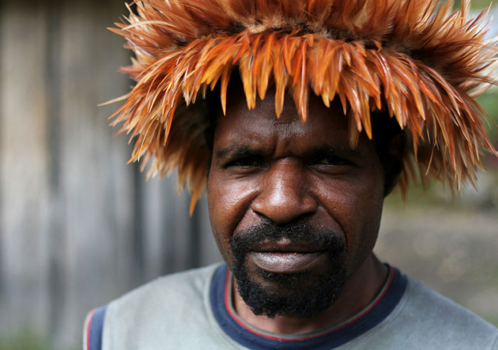 papua baliem people