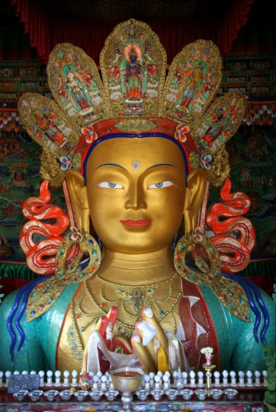 tiksey buddha monastery top places to visit in ladakh