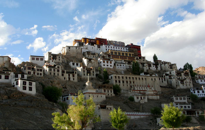 tiksey monastery top places to visit in ladakh