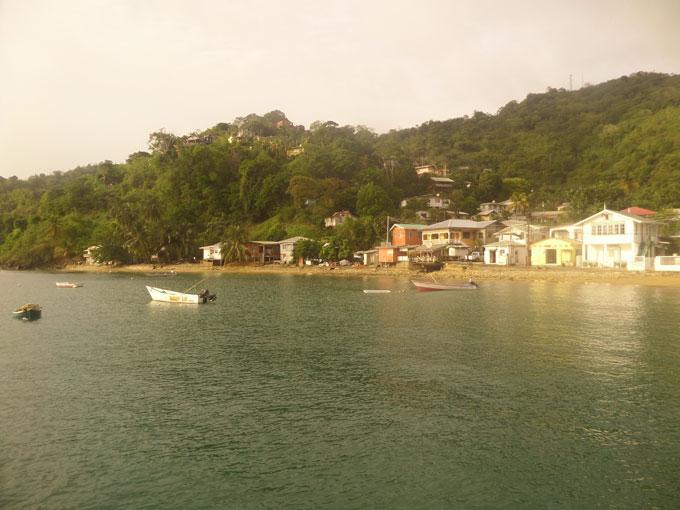 charloteville mochilero por trinidad y tobago