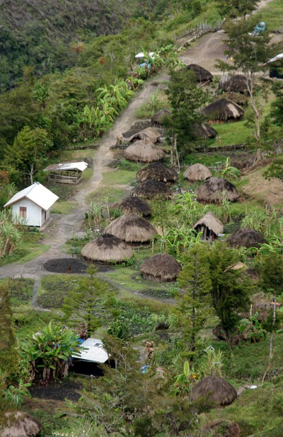 villages papua Hiking the Baliem Valley on a budget