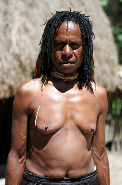 mujer papua Valle de Baliem