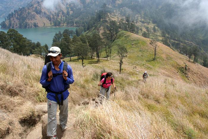 caminos Trekking al monte rinjani