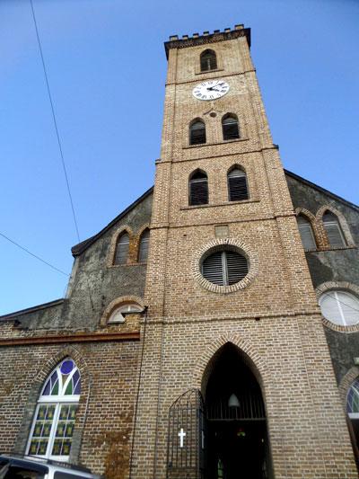 catedral saint george mochilero por grenada