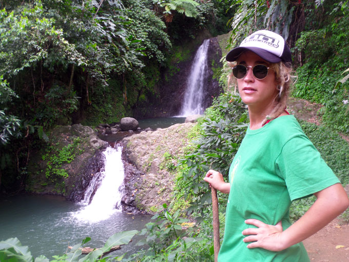 Hike to Seven Sisters Falls in Grenada