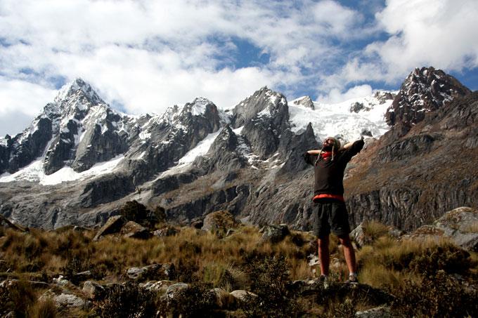 trekking santa cruz mochilero por Perú. Guía de viaje
