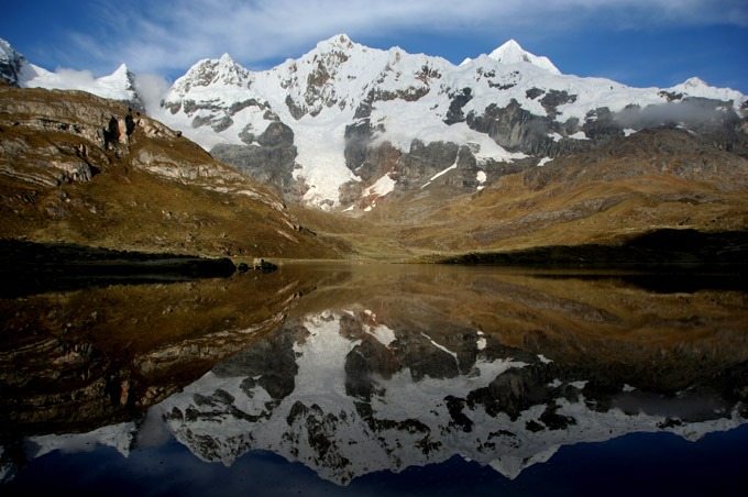 lagoon carnicero Trekking the Huayhuash circuit on a budget