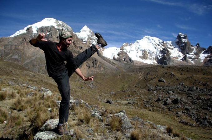 trekking al circuito Huayhuash sin guías