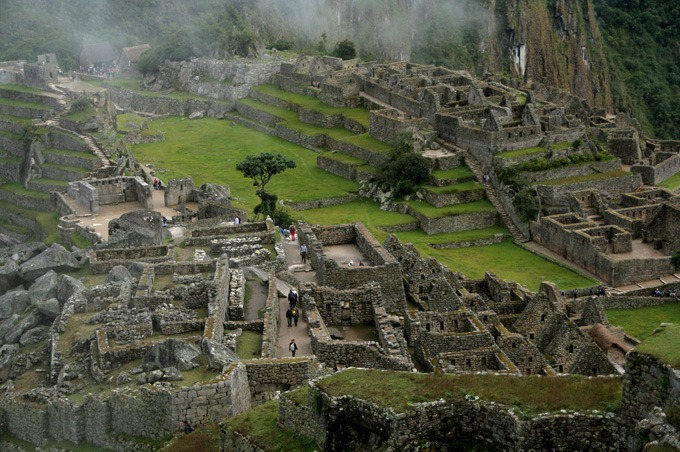 ruins mist how to get to machu picchu on a budget