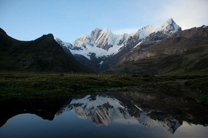 laguna mitucocha trekking al circuito Huayhuash sin guías