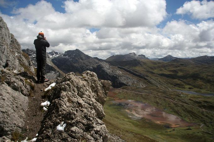 pass qaqanan cacanan trekking al circuito Huayhuash sin guías