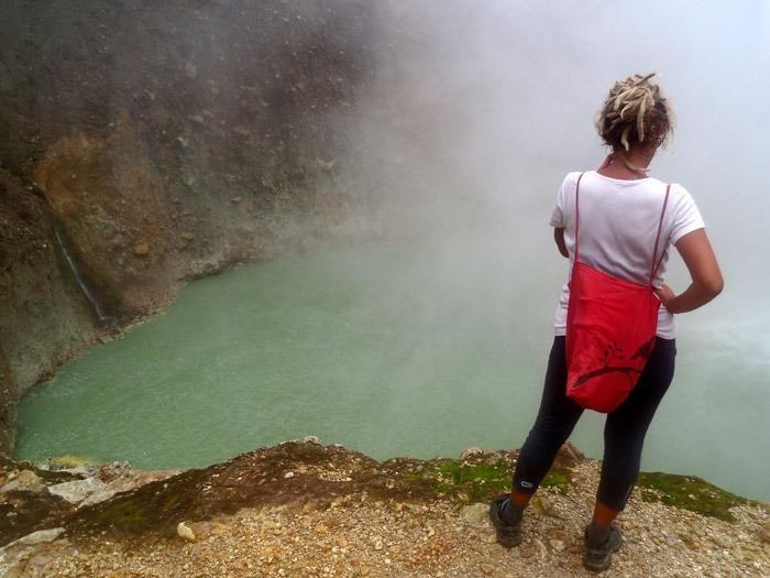 boiling lake Mochilero por Dominica guia de viajes
