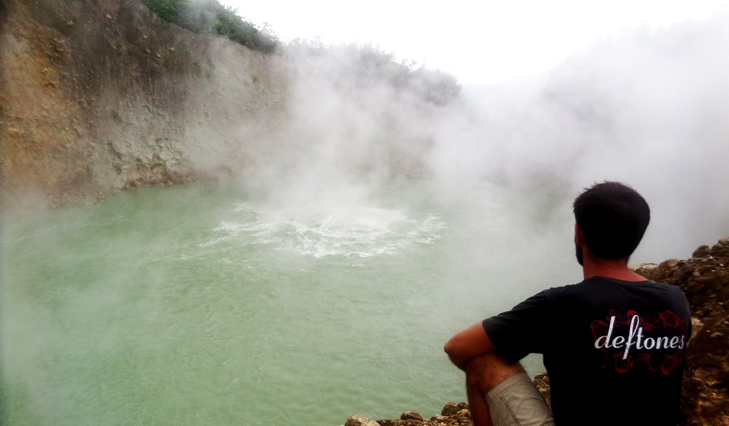 Hiking Boiling Lake in Dominica