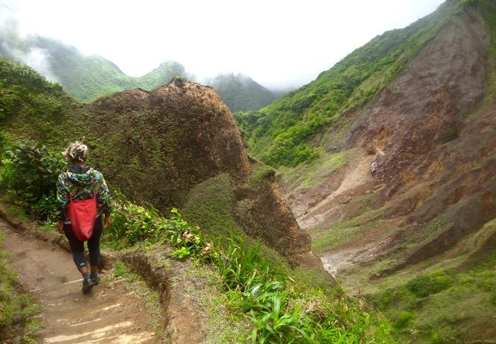 trekking al boiling lake en dominica