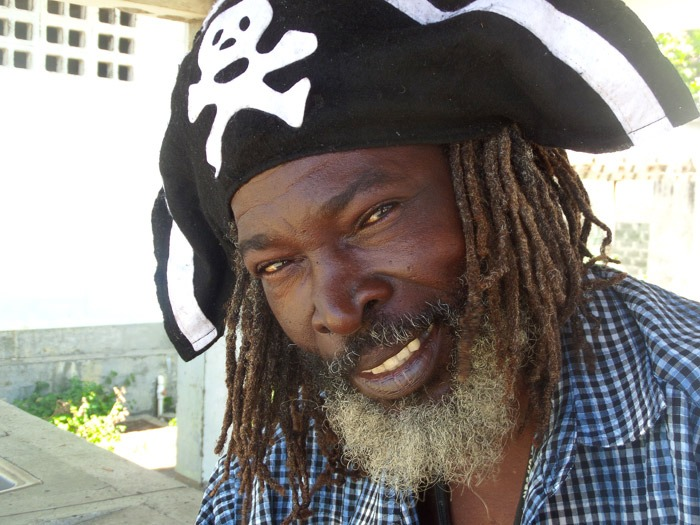 It looks like we found a real pirate after all