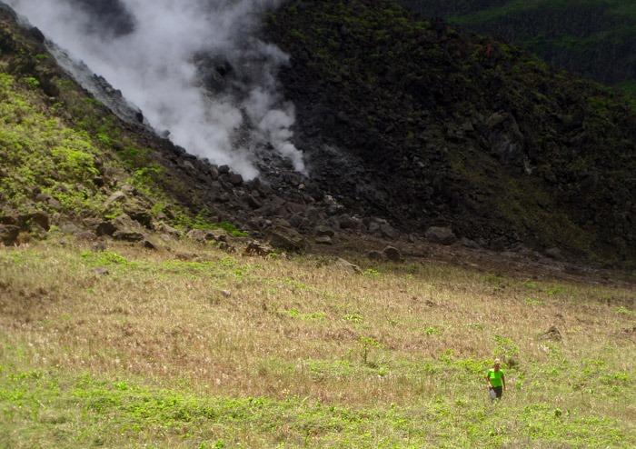 Trekking y aventuras por el Caribe Volcan La Soufriere Saint Vincent
