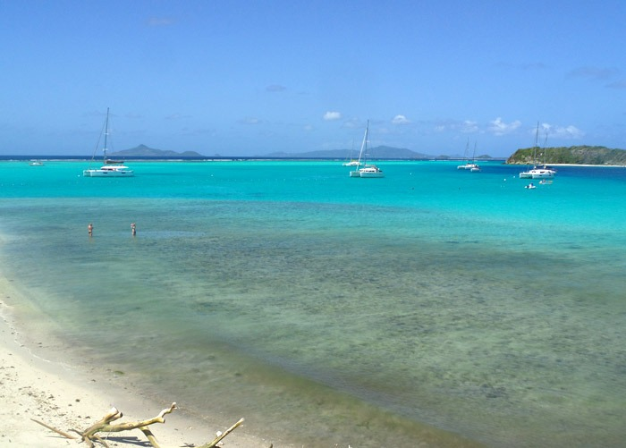 tobago cays marine park backpacking the Caribbean