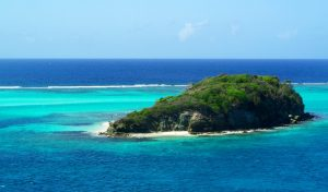 Exploring Tobago cays Marine Park and Union island