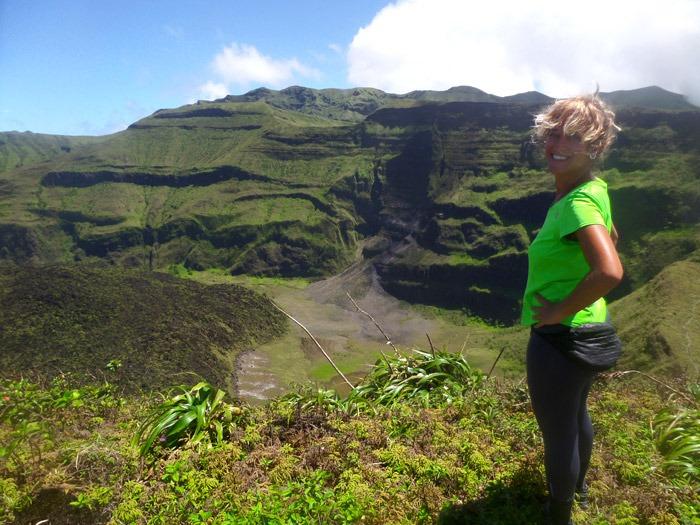 Hiking La Soufrière