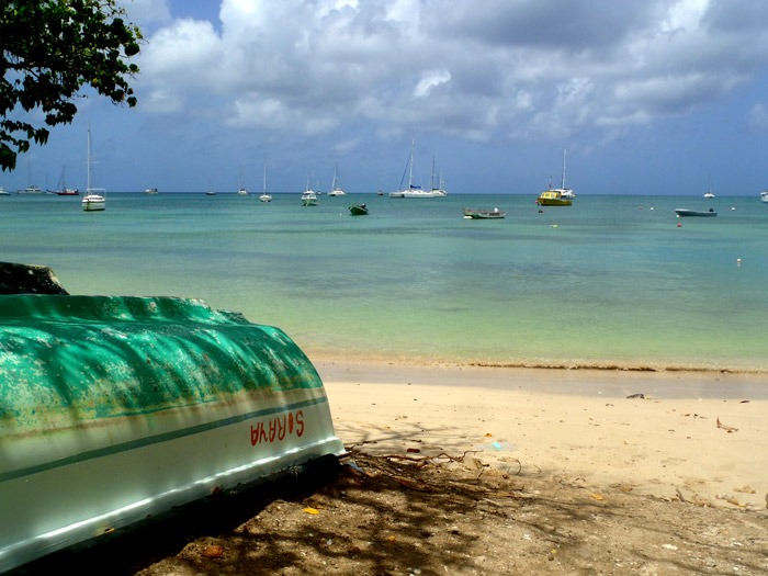 camping in martinique sainte anne
