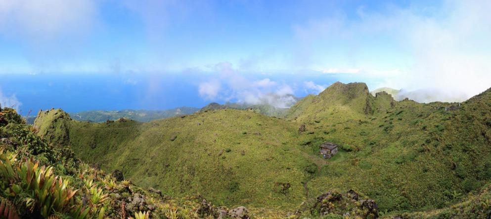 monte pelée volcan