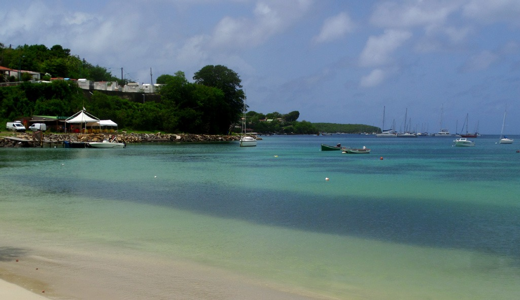 Best place for Camping in Martinique: Sainte Anne, Caribbean