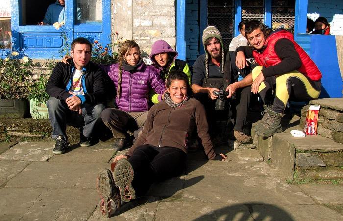 trekking al campo base del annapurna tadapani