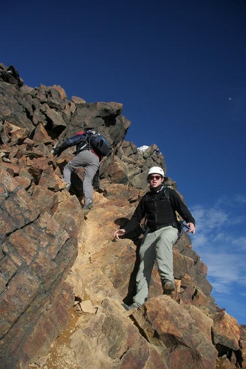 ecuador trekking climbing iliniza norte