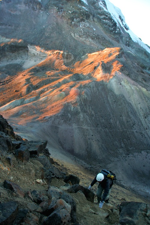 escalar el iliniza norte trekking ecuador
