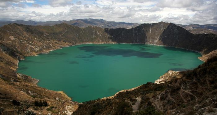 trekking al quilotoa loop laguna