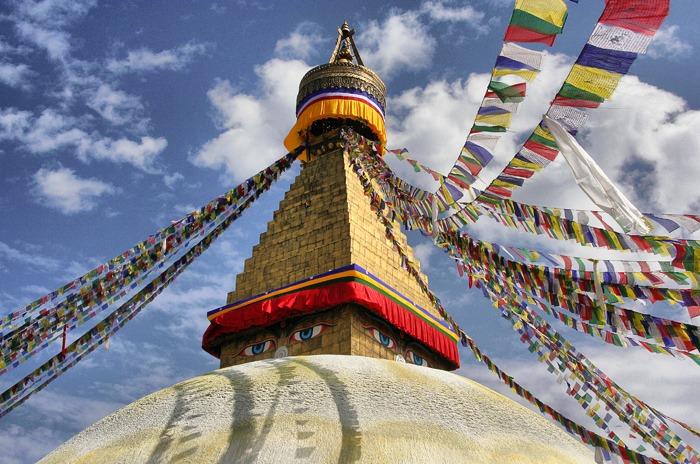 boudhanath stupa best places to visit in kathmandu