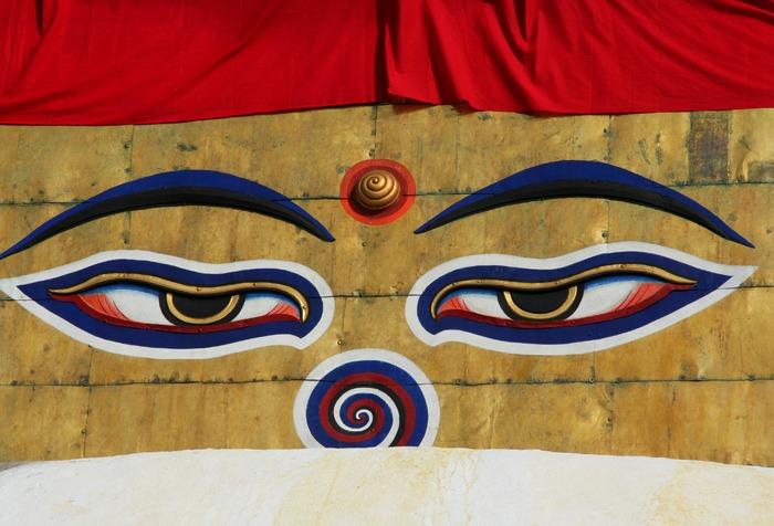 ojo swayambhunath que ver en kathmandu