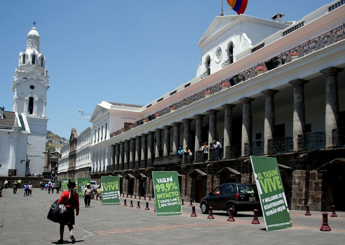 independence square best things to do in Quito Ecuador