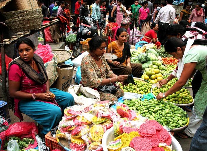 mercado que ver en kathmandu