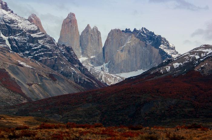 entrada Trekking W de las Torres del Paine