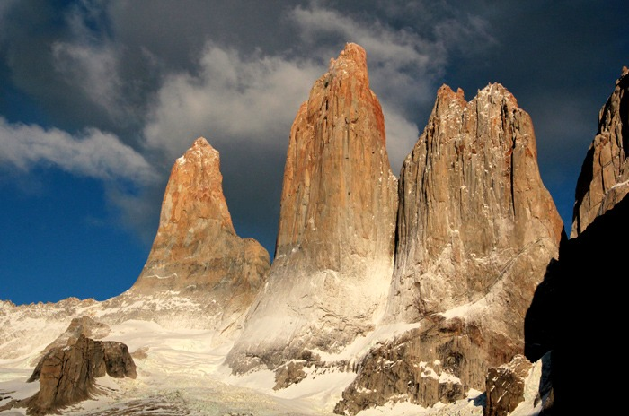 amanecer Trekking W de las Torres del Paine
