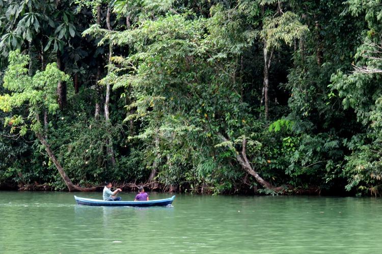 visitando rio dulce y livingston