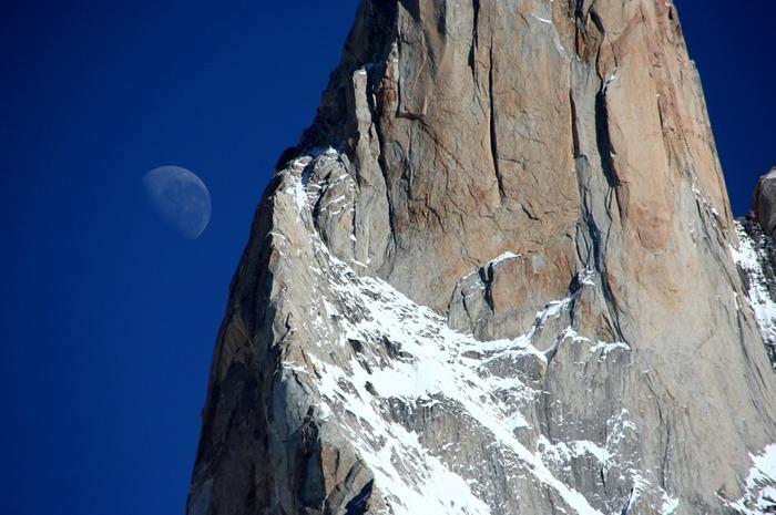 luna Trekking del Fitz Roy y Cerro Torre