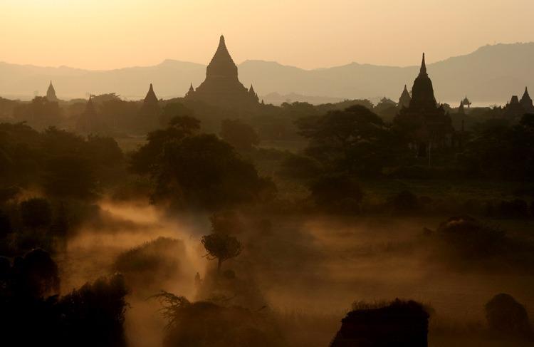 templos bagan viajar a myanmar