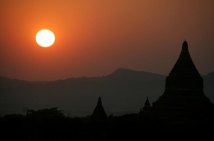 bagan templos fotos viajar a myanmar